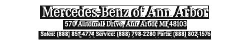 certified pre owned mercedes benz specials mercedes benz of ann arbor. Black Bedroom Furniture Sets. Home Design Ideas